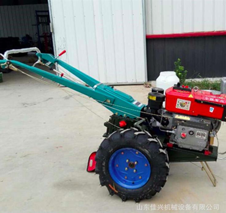 农用柴油手扶拖拉机 多功能柴油带动大马力家用旋耕机耕田机