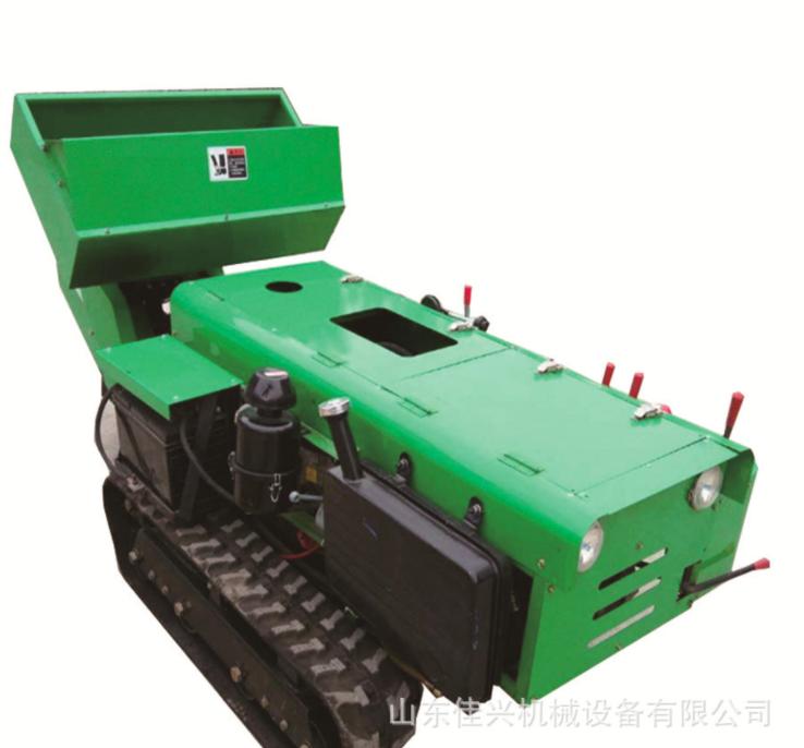 厂家供应履带式田园管理机 果园开沟施肥机 小型电启动旋耕机