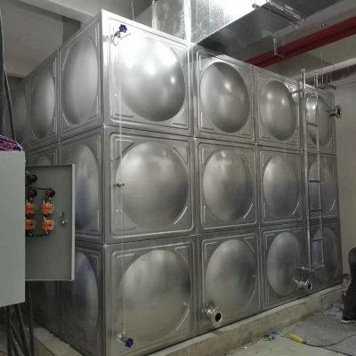 304不锈钢水箱保温消防水箱定制 组合式方形水箱储水设备厂家