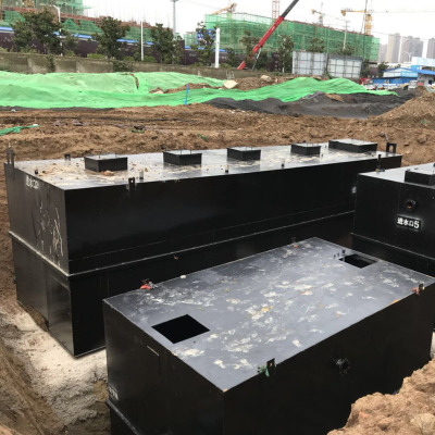 气浮机生活污水处理设备 地理一体污水处理设备 造纸污水处理