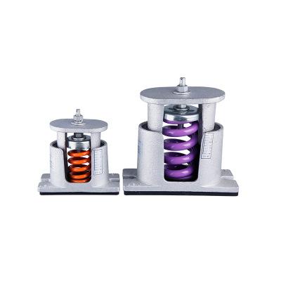 TB-M型弹簧减震器空调主机风机水泵发电机组座式弹簧减震器减震垫