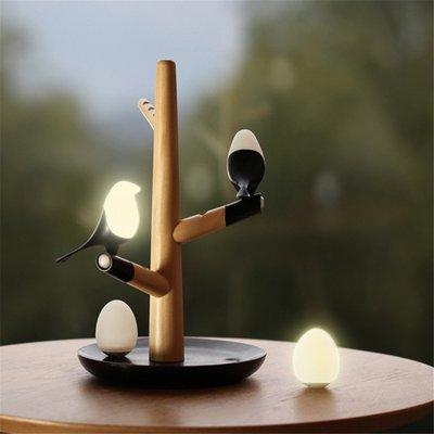 喜上梢智能家居小夜灯usb充电人体感应氛围灯新奇特创意礼品led灯