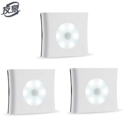 厂家直销新款人体感应灯跨境led光控小夜灯橱柜衣柜厕所起夜灯
