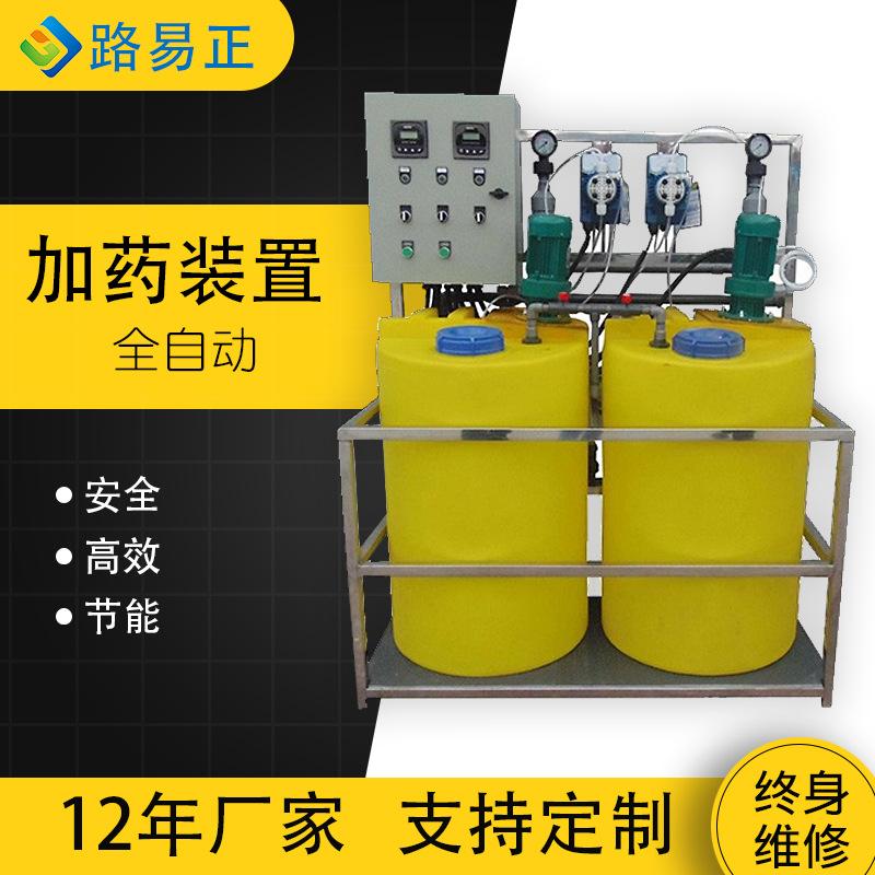 全自动加药装置去污去垢装置桶装自动加药泵水处理设备加药