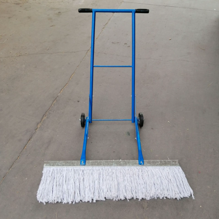 手推式墩布车带轮子棉线平板拖把酒店拖布可替换地拖平板尘推车