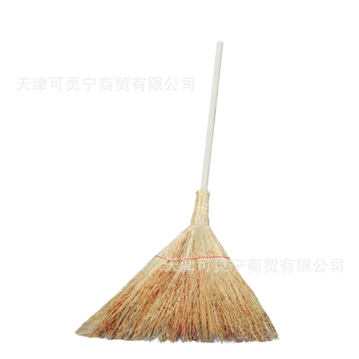 厂家批发高梁小扫帚 高梁笤帚 工程建筑笤帚 家庭短把木杆小扫把