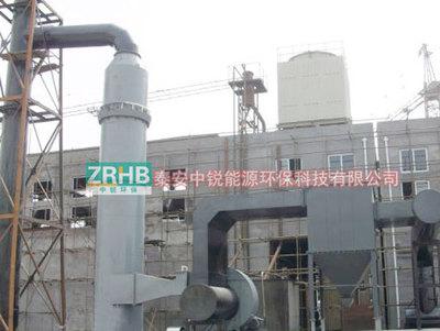 锅炉脱硫除尘设备零售/中锐厂家加工定做