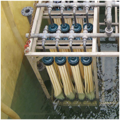 MBR膜污水处理中空纤维帘式膜PVDF抗污染