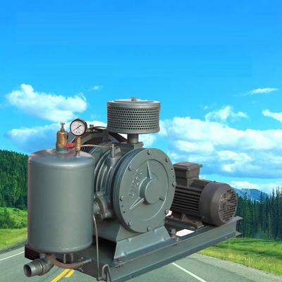 HC系列回转式高压低噪音高耐磨三叶罗茨鼓风机曝气污水处理设备