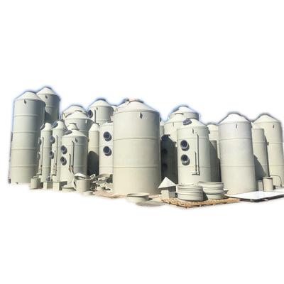 厂家供应脱硫环保工业废气净化器除尘废气处理设备pp喷淋塔洗涤塔