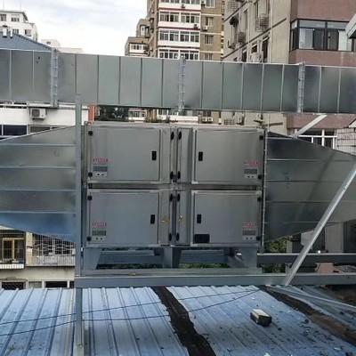 山东临沂厂家商用厨房静电油烟净化器等离子环保除味餐饮4000风量