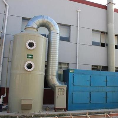直销环保设备高效湿式除尘器 酸雾废气净化塔工业pp水喷淋净化塔