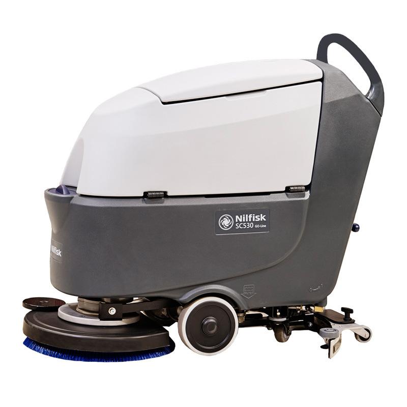 力奇电瓶自走式洗地机SC530BD Nilfisk丹麦力奇SC530手推式洗地机