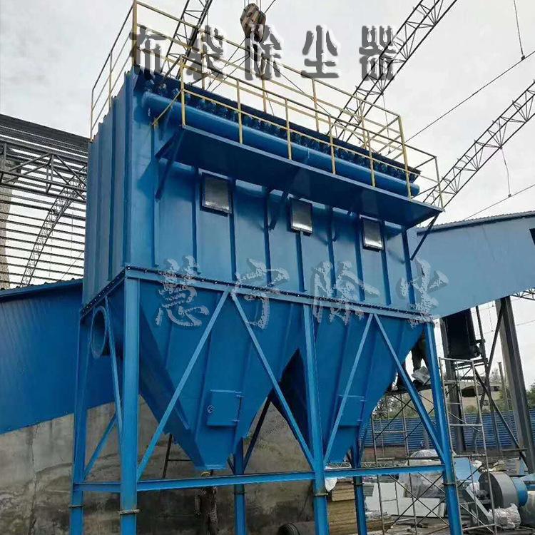 慧宁供应脉冲袋式除尘器64袋工业粉尘颗粒净化小型环保设备可定制