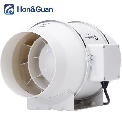 讴大除尘管道风机6寸卫生间静音排风换气扇强力厨房油烟抽风机150