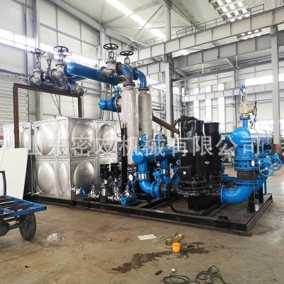 不锈钢热交换器 PLC换热机组 供暖换热机组 换热器蒸汽冷凝器