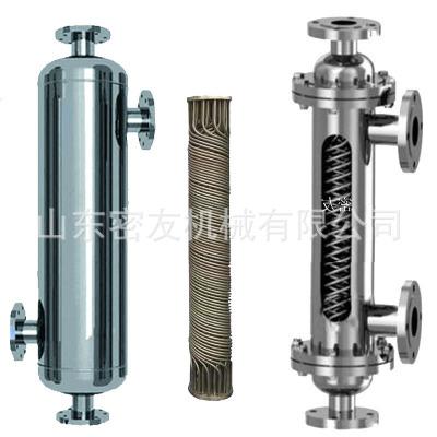 物料循环加热/降温螺旋螺纹管换热器 导热油换热器 热交换器