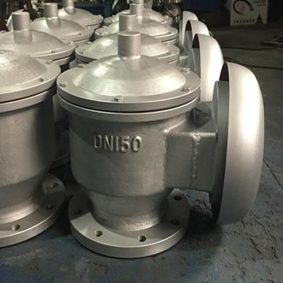法兰呼吸阀 阻火器 ZFQ-11铝合金全天候防爆阻火呼吸阀