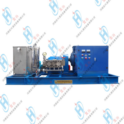 电动超高压清洗机 100Mpa电厂预热器检修超高压清洗机 宏兴牌