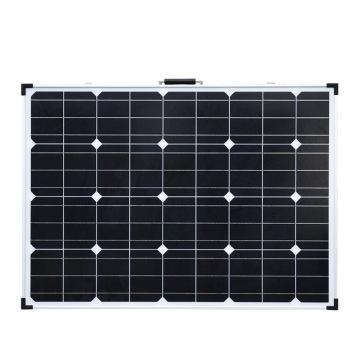 工厂自产太阳能板 2*100W太阳能折叠箱移动户外充电蓄电池太阳能