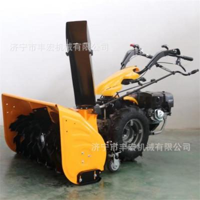 雪地路面铲雪机 各种型号齐全供应 手推式厚雪路面抛雪机 扫雪机