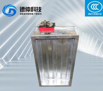 厂家批发不锈钢方形防火阀手动常开镀锌板3C消防排烟防火阀