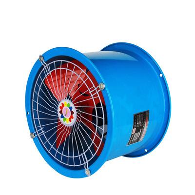 SF2号8寸低噪声圆筒管道式轴流风机 工业排风机 厨房排烟风机