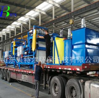 厂家直销洗砂泥浆压干脱水机 带式压滤机设备 贝特尔环保科技