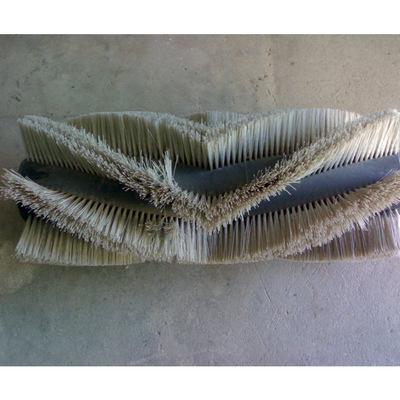 厂家供应V形尼龙丝环卫毛刷辊 环卫清洗毛刷 扫路刷洗地刷 可定制