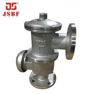 HXF-4型单接管带呼阻火呼吸阀 不锈钢 碳钢储罐接管 阻火 呼吸阀
