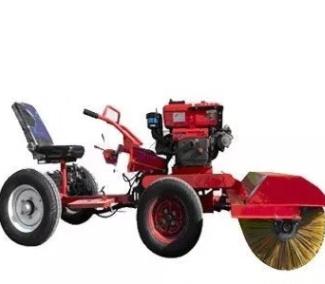 扫雪车柴油驾驶式扫雪机小区马路清雪机高速路清洁扫雪车批发