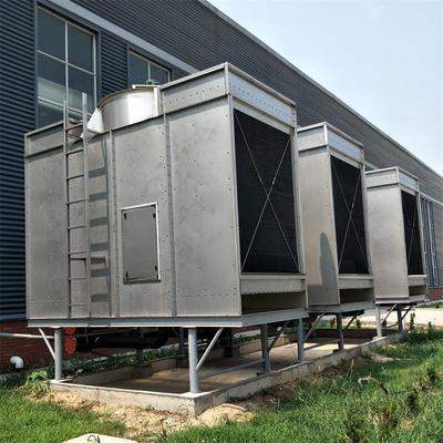 定做大型工业冷却塔 玻璃钢闭式冷却塔 工业降温方形逆流式冷却塔