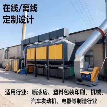 工业印刷厂VOCS有机废气处理设备催化燃烧设备