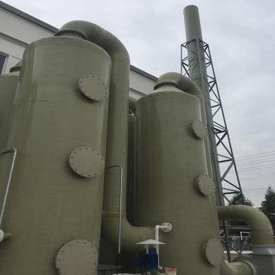 玻璃钢脱硫塔吸收塔 尾气脱硫除尘设备批发
