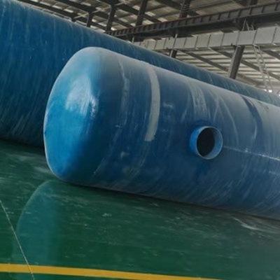 加工定制玻璃钢模压化粪池 隔油池 玻璃钢缠绕化粪池