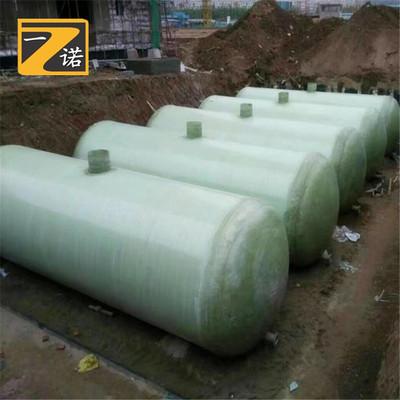 批发玻璃钢化粪池 150立方成品消防水罐 200立方玻璃钢消防水池