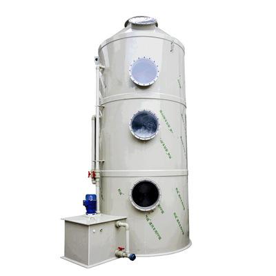 厂家供应酸雾废气处理成套设备净化塔 耐酸碱耐老化喷淋洗涤塔