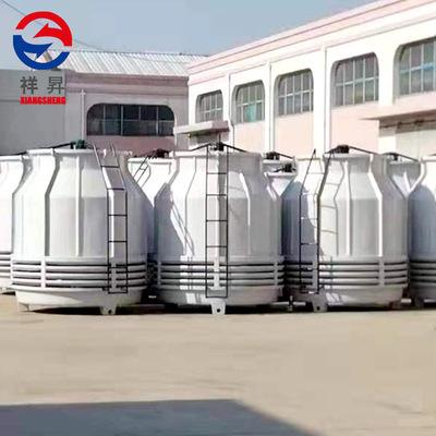 厂家定制玻璃钢冷却塔 圆形逆流式冷却塔 圆形工业小型水塔冷却塔定金