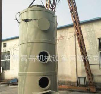 碳钢PP钢脱硫塔除尘旋流板喷淋锅炉烟气除硫除废气 废气脱硫除尘