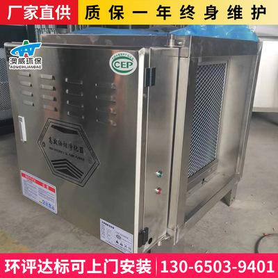 油烟净化器高低空排放静电式餐饮厨房店专用低温等离子工程商用款