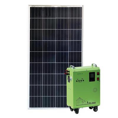 太阳能发电机纯正弦波300W逆控一体机供电系统家用220V交直流设备